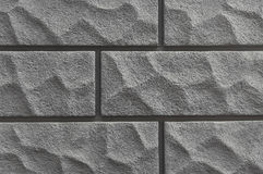 Old grey stone wall background texture Stock Image