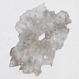 Old grey stucco wall Stock Images