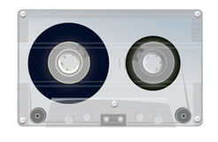 Old grey tape Stock Photography