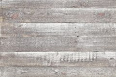 Old grey wood background, rustic wooden surface with copy space. Vintage grey painted rustic old wooden horizontal planks wall textured background. Faded natural stock photography