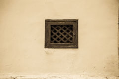 Old grid. In door - Malta Europe Royalty Free Stock Photography