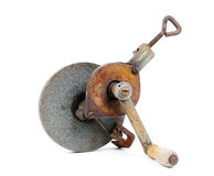Old grinding wheel Stock Images