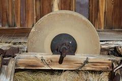 Old Grinding Wheel Stock Photos