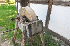 The old grindstone Royalty Free Stock Image