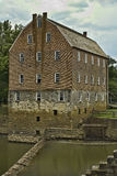 Old Grist Mill. Bollinger Mill and Covered Bridge in Southeast Missouri Royalty Free Stock Images