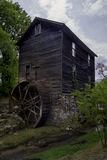 An old Grist Mill barn in the Smoky Mountains. An old Grist Mill in Smoky Mountain National Park Royalty Free Stock Photo