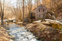 The Old Grist Mill. Rice Grist Mill in East Tennessee Stock Image