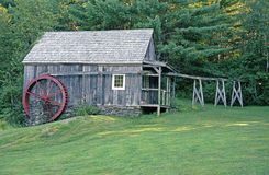 Old Grist Mill. Rockingham,Vermont Royalty Free Stock Image