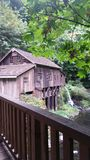 Old Grist Mill. Washington rural old mill Royalty Free Stock Images