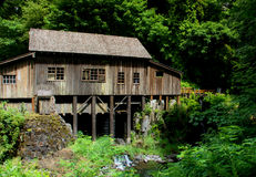 Old Grist Mill 2. A wonderful old mill that has been restored and can be visited. It's a beautiful area and the sound of running water is very refreshing Royalty Free Stock Photo