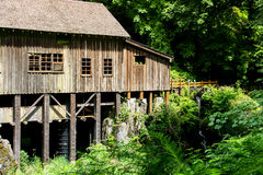 Old Grist Mill 3. A wonderful old mill that has been restored and can be visited. It's a beautiful area and the sound of running water is very refreshing Royalty Free Stock Photography