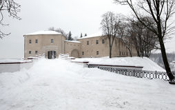 The Grodno fortress stock image