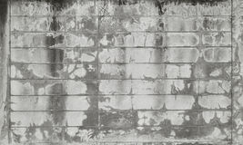 Old ground ,cement block wall Stock Photography