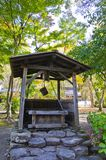 Old groundwater wells. In the garden royalty free stock photo