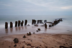 Old groyne Royalty Free Stock Photography