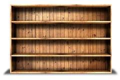 Old Grung Wood Shelf Background Royalty Free Stock Photo