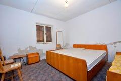 Old grunge abandoned bedroom Stock Image