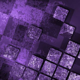 Old grunge background with abstract canvas Stock Photos