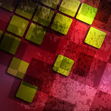 Old grunge background with abstract canvas Royalty Free Stock Image