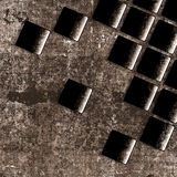 Old grunge background with abstract canvas Royalty Free Stock Photo