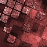 Old grunge background with abstract canvas Royalty Free Stock Images