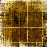 Old grunge background with abstract ornament Stock Photography