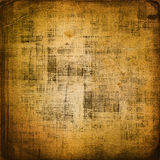 Old grunge background with ancient ornament Royalty Free Stock Photography