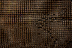 Old  grunge background brown texture. Horizontal photo Royalty Free Stock Photography