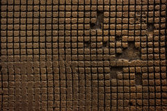 Old  grunge background brown texture. Horizontal photo Stock Photography