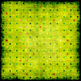 Old grunge background with dots Royalty Free Stock Image