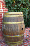 Old grunge barrel Royalty Free Stock Photography