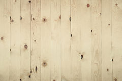 Old grunge beige wood panel pattern. Old grunge beige-brown wood panel pattern with beautiful abstract grain surface texture, vertical striped background or Stock Photos