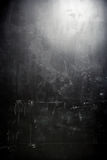 Old grunge black wall Stock Image