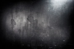 Old grunge black wall Stock Photo