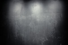 Old grunge black wall Royalty Free Stock Photos