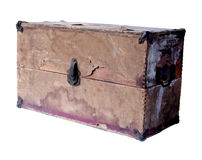 Old grunge box Royalty Free Stock Image