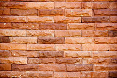 Old grunge brick. Wall background Stock Photography