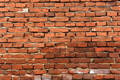 Old grunge brick wall background Royalty Free Stock Photos