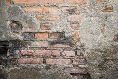 Old grunge brick wall background royalty free stock image