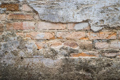 Old grunge brick wall background royalty free stock photography