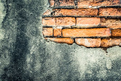 Old grunge brick wall Royalty Free Stock Photos