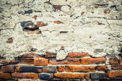 Old grunge brick wall Stock Photo