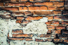 Old grunge brick wall Stock Images