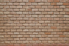 Old grunge brick wall texture. Old brown grunge brick wall textured surface Royalty Free Stock Photo