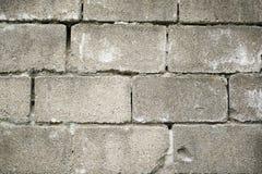 Old grunge brick wall texture. Old gray grunge brick wall textured surface Stock Image