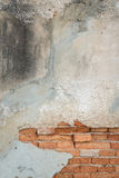 Old grunge bricks wall surface background Stock Images