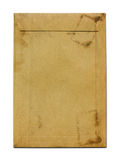 Old grunge brown paper envelope Royalty Free Stock Photography
