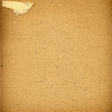 Old grunge cardboard sheet of paper Stock Photography