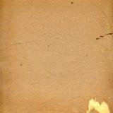 Old grunge cardboard sheet of paper Stock Images