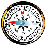 Old grunge compass Royalty Free Stock Photography